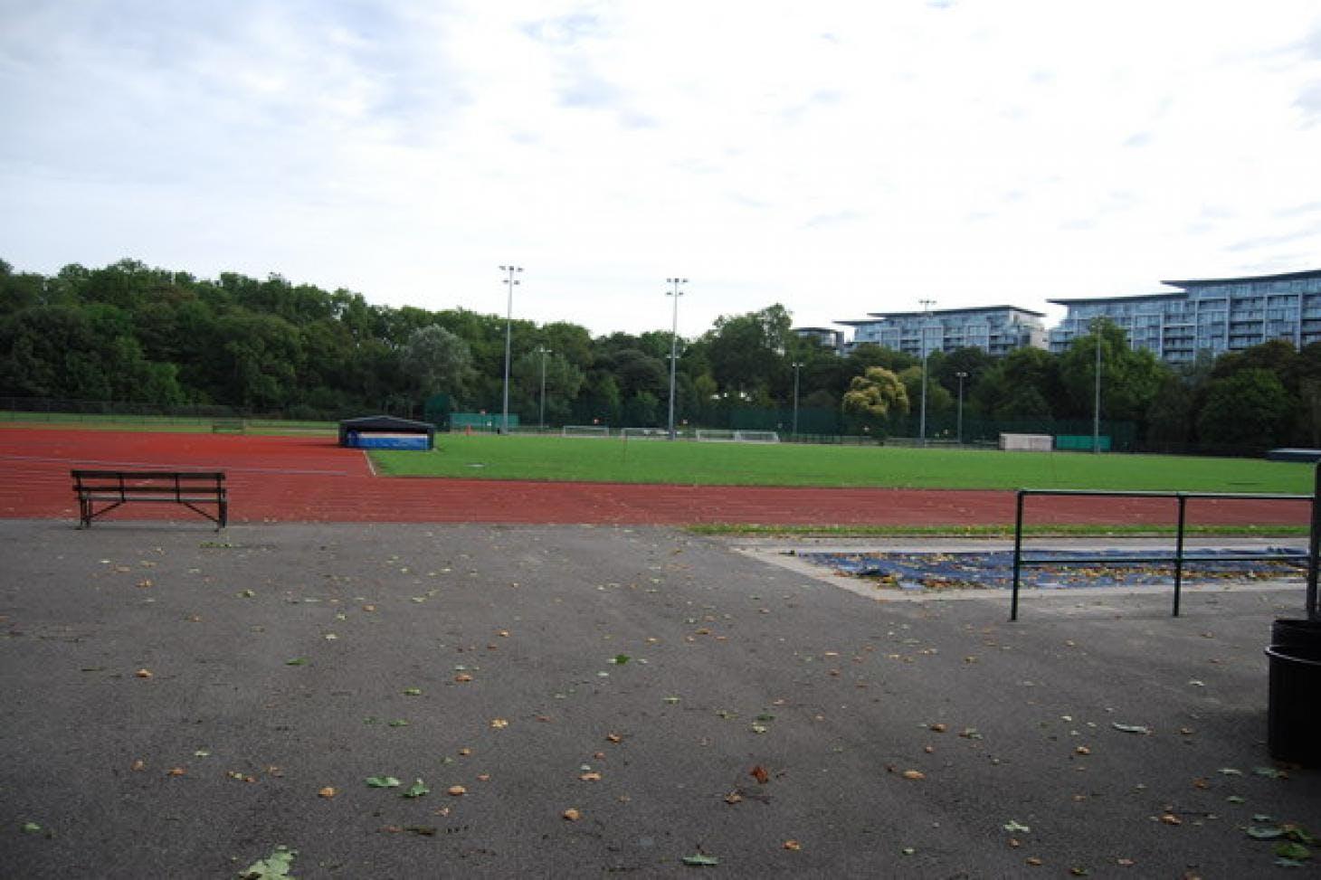 Battersea Park Millennium Arena Union rugby pitch