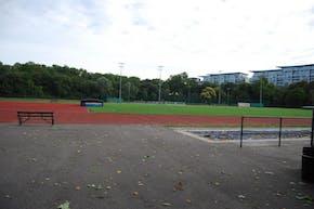 Battersea Park Millennium Arena | Concrete Netball Court