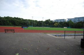 Battersea Park Millennium Arena | Synthetic rubber Athletics Track