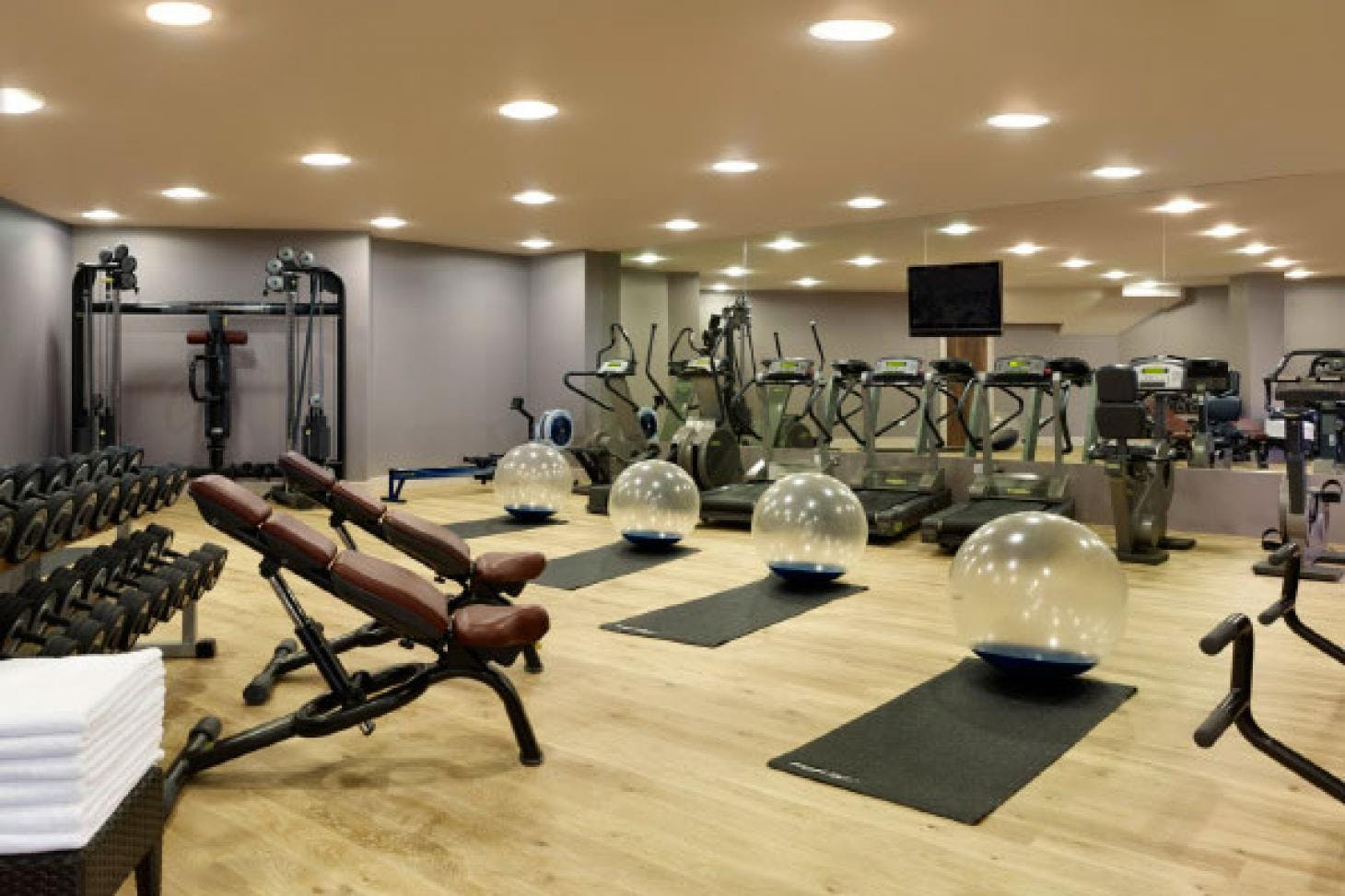 Blue Harbour Spa Gym gym