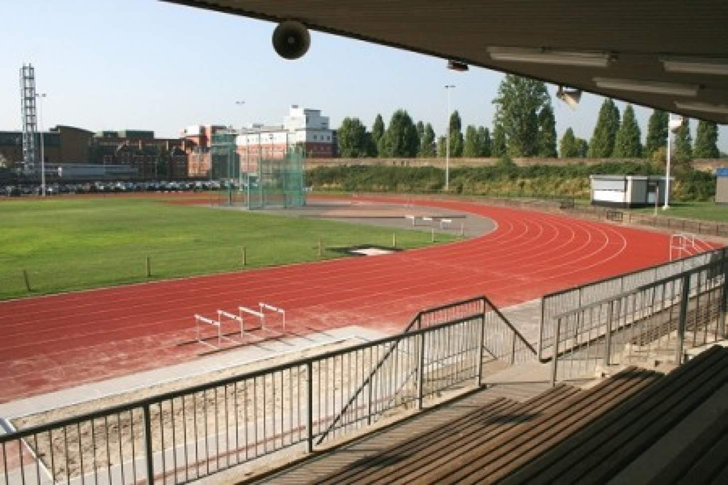 Linford Christie Athletics Track Outdoor | Synthetic rubber athletics track
