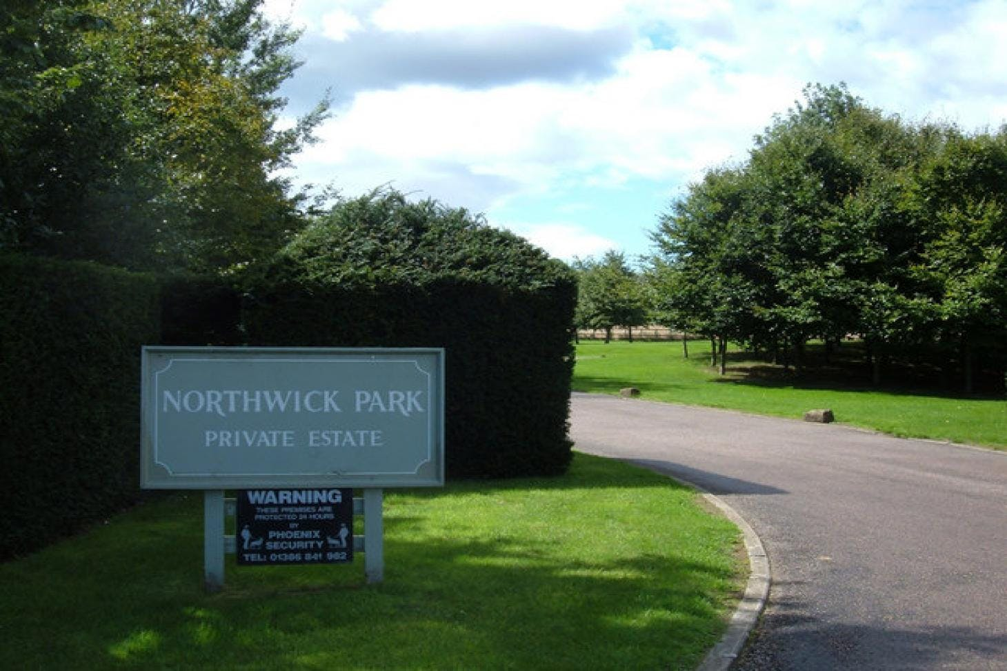 Northwick Park Union rugby pitch