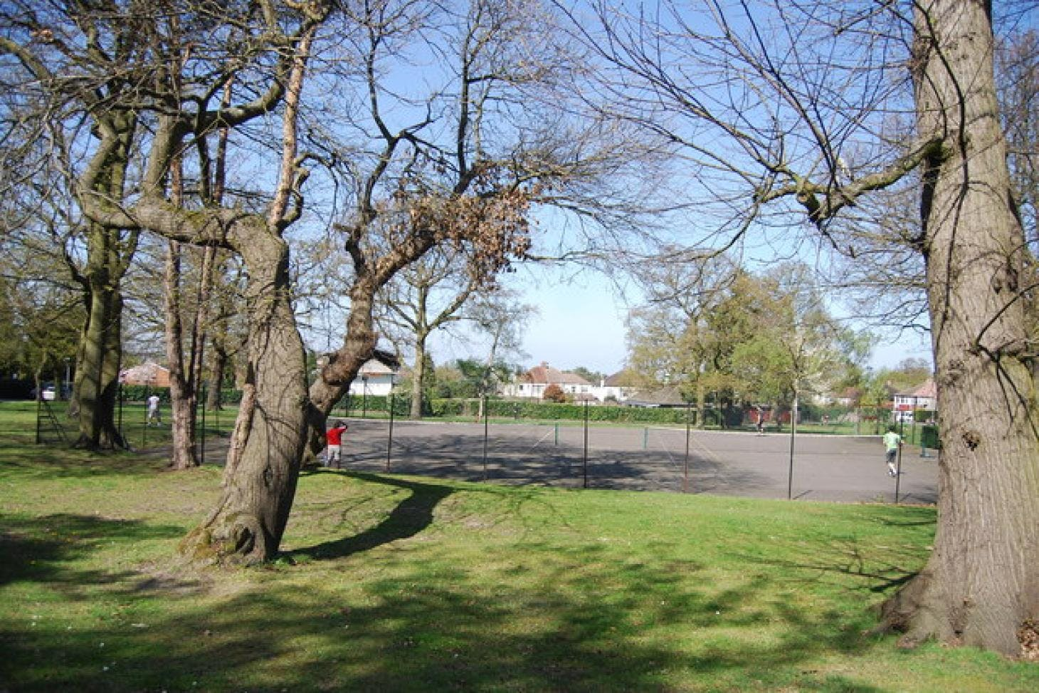 Shirley Church Recreation Ground Outdoor | Concrete netball court
