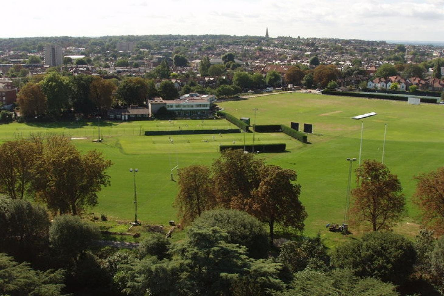 Old Deer Park Rugby Pitch Union rugby pitch