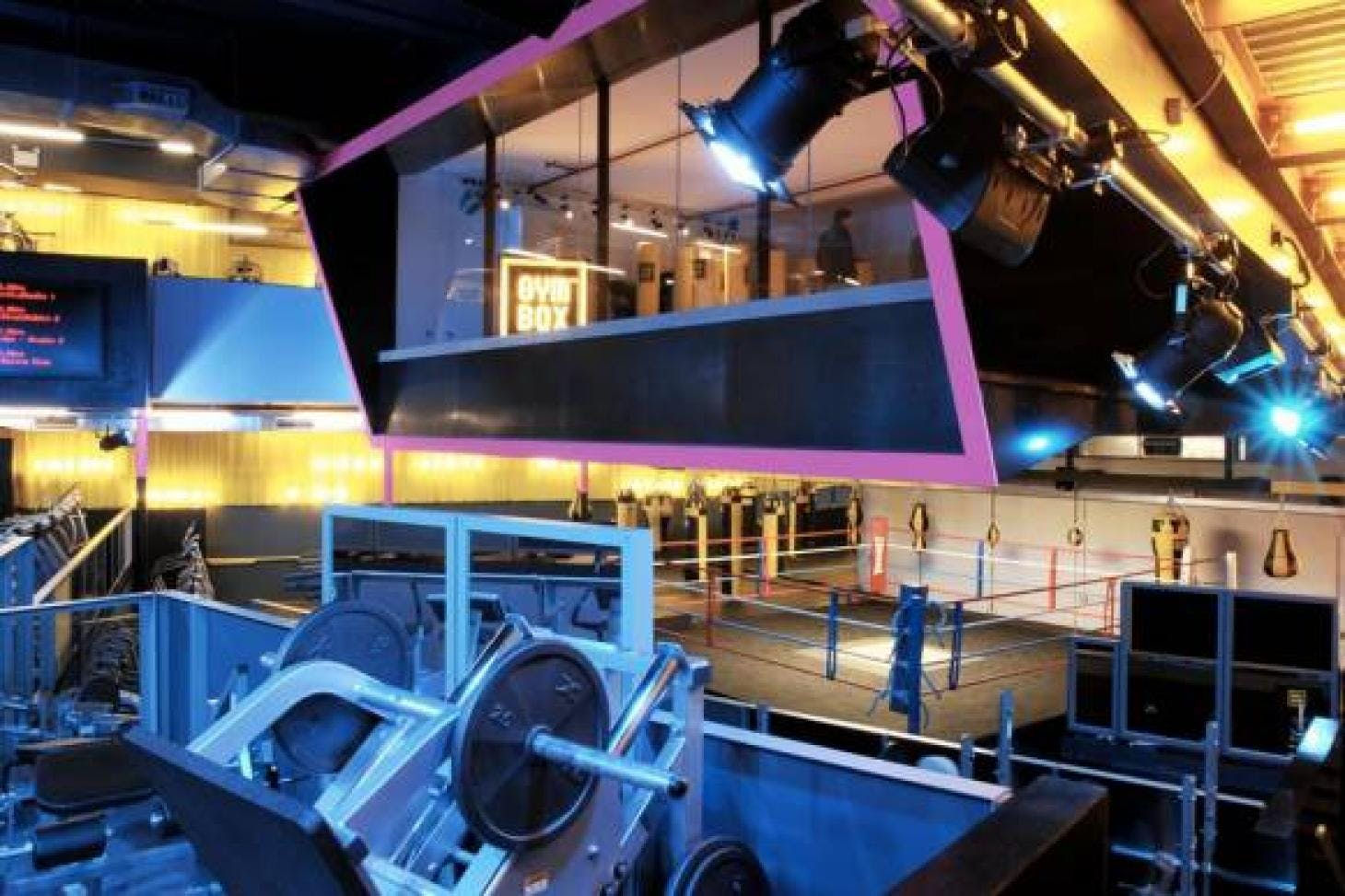 Gymbox Covent Garden Gym gym