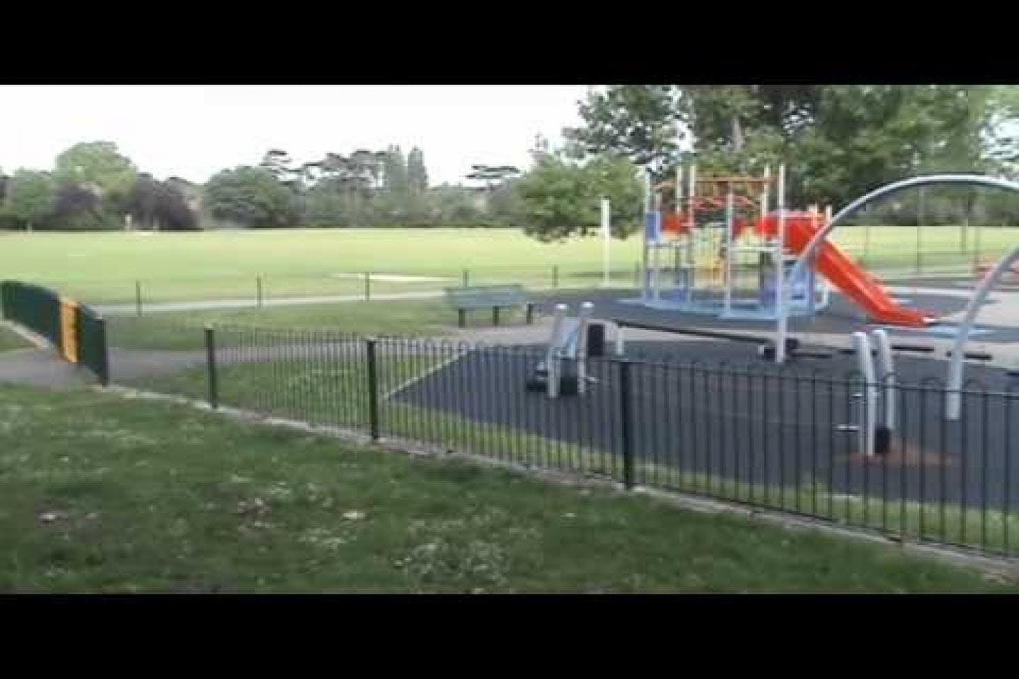 Auriol Park 5 a side | Concrete football pitch