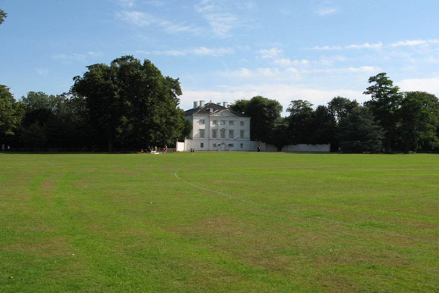 Marble Hill Park Union rugby pitch