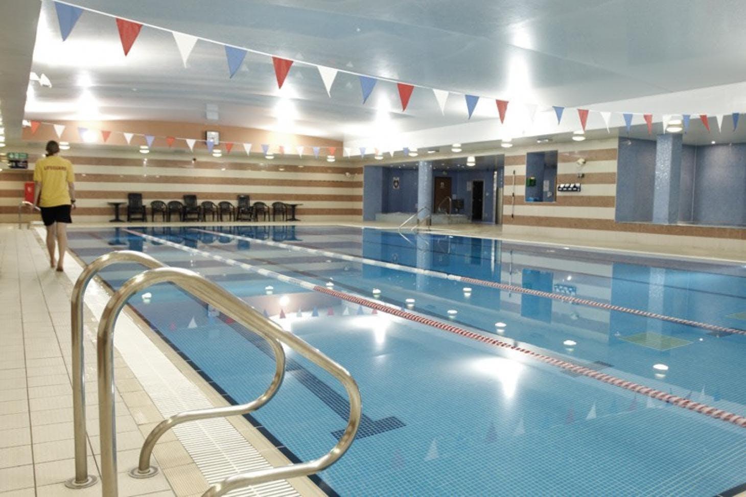 David Lloyd Kidbrooke Indoor swimming pool