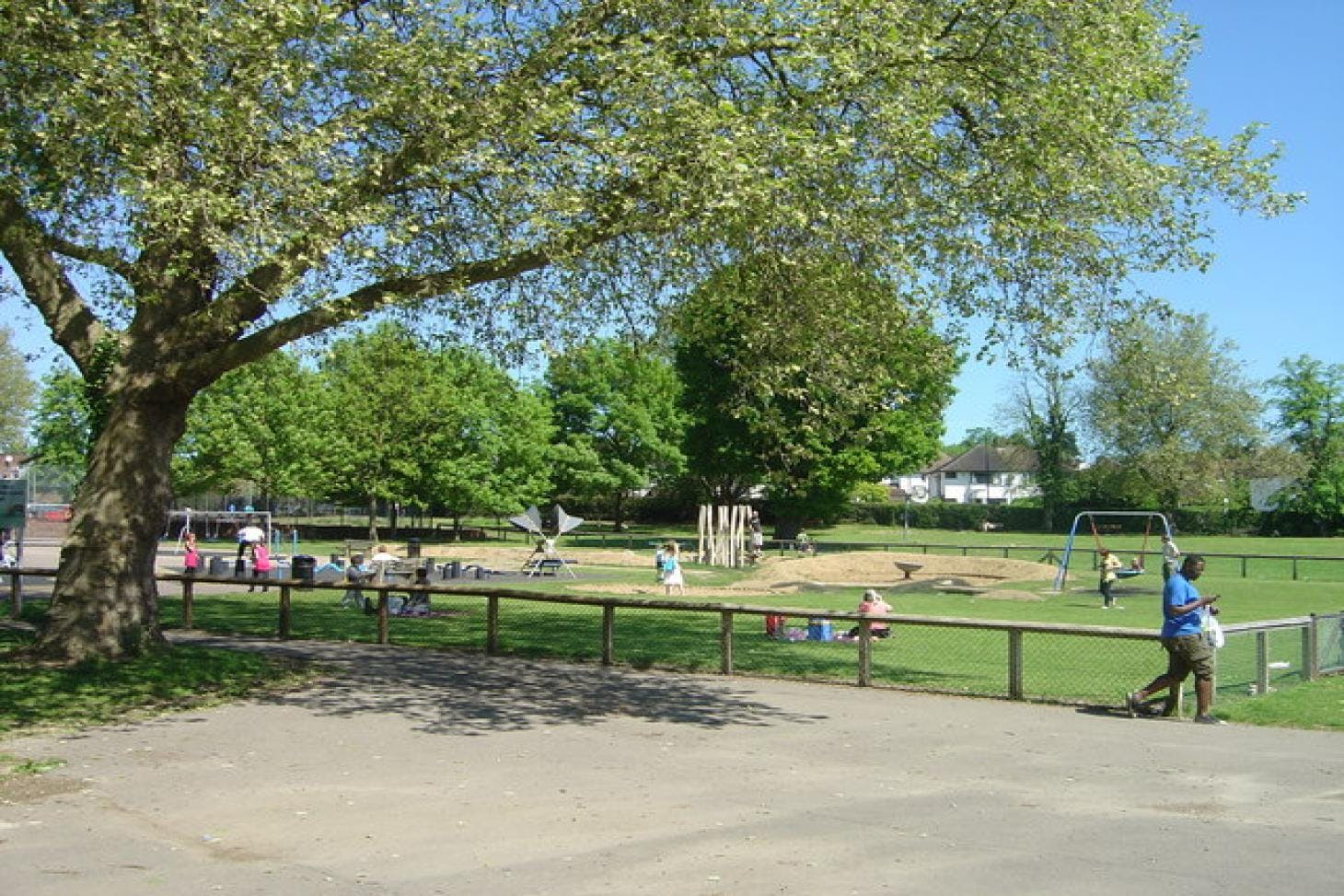 Harrow Weald Recreation Ground Full size | Grass cricket facilities
