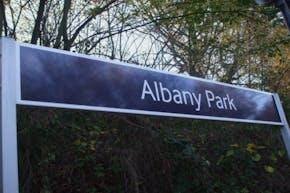 Albany Park   Hard (macadam) Tennis Court