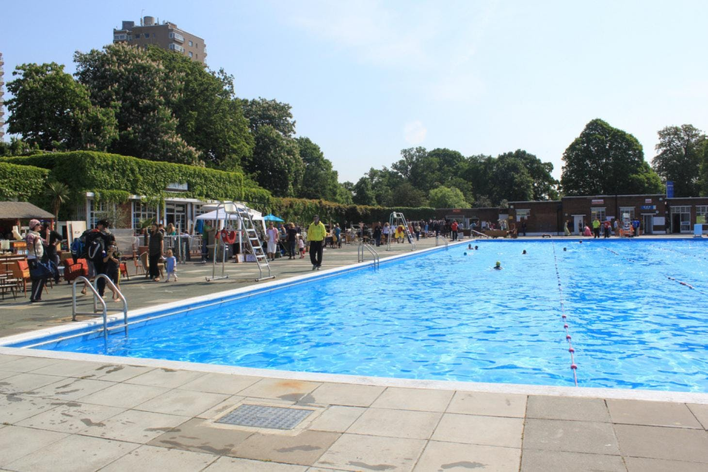 Brockwell Park Lido Outdoor swimming pool