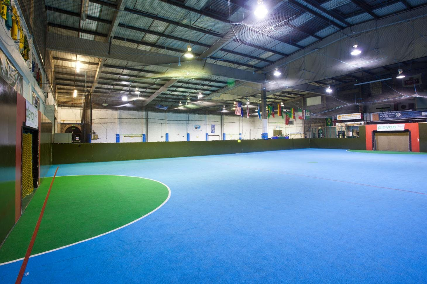 Play On Sports Indoor netball court