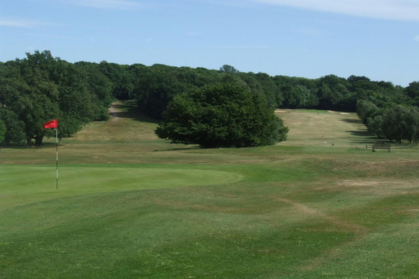 Beckenham Place Park Golf Club 18 hole golf course