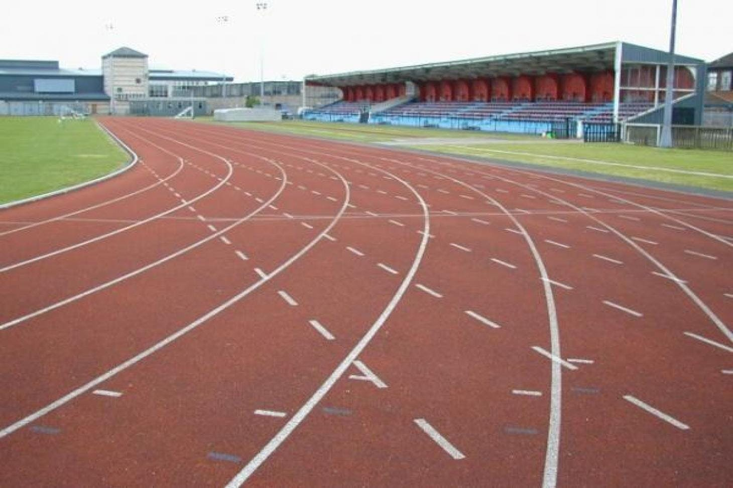Terence McMillan Stadium Outdoor | Synthetic rubber athletics track