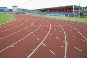 Terence McMillan Stadium | Synthetic rubber Athletics Track