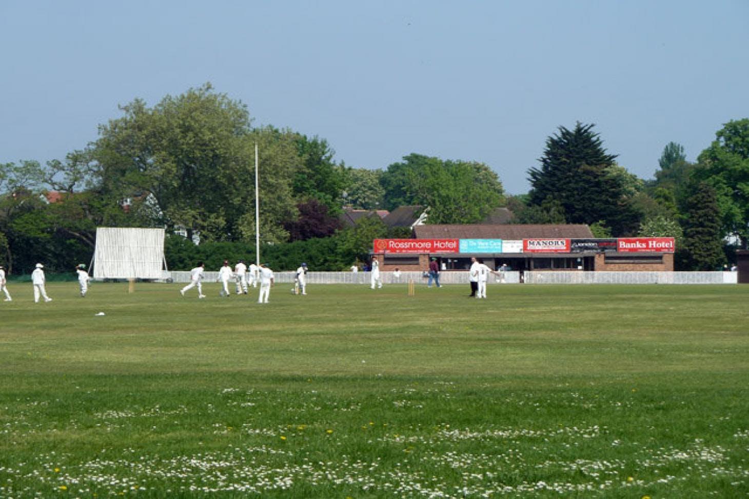 Valentines Park Full size | Grass cricket facilities