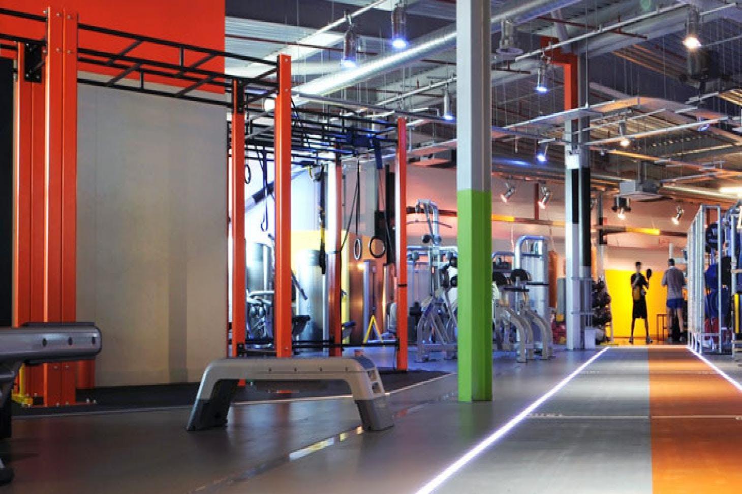 Gymbox Westfield Gym gym
