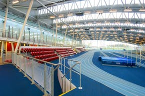 Lee Valley Athletics Centre (Indoor) | Indoor Athletics Track