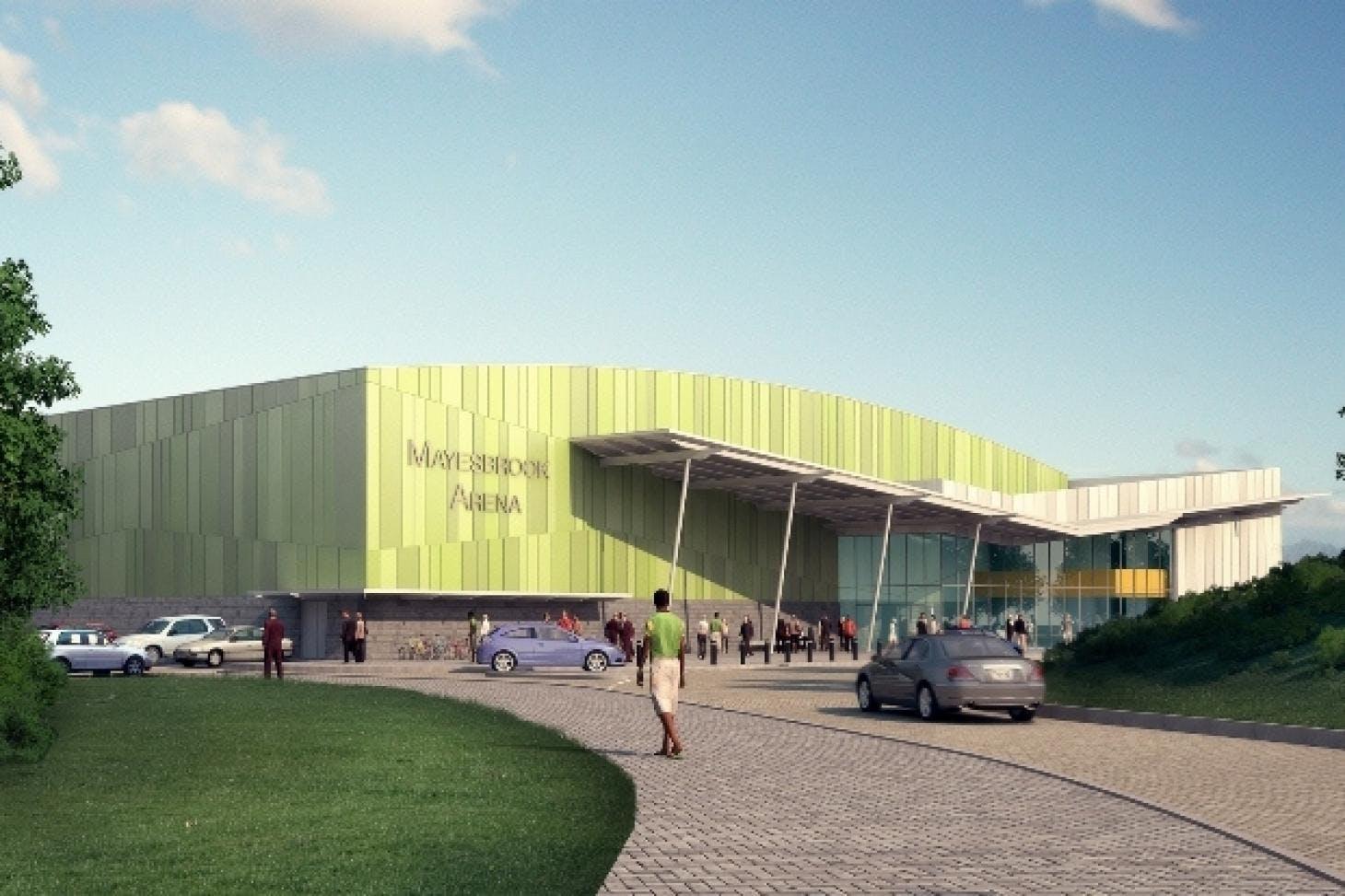 Mayesbrook Park Full size   Grass cricket facilities
