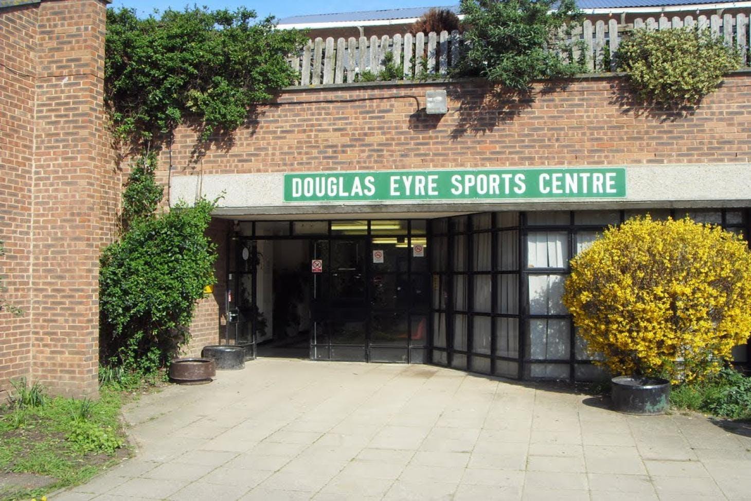 Douglas Eyre Sports Centre Nets   Artificial cricket facilities