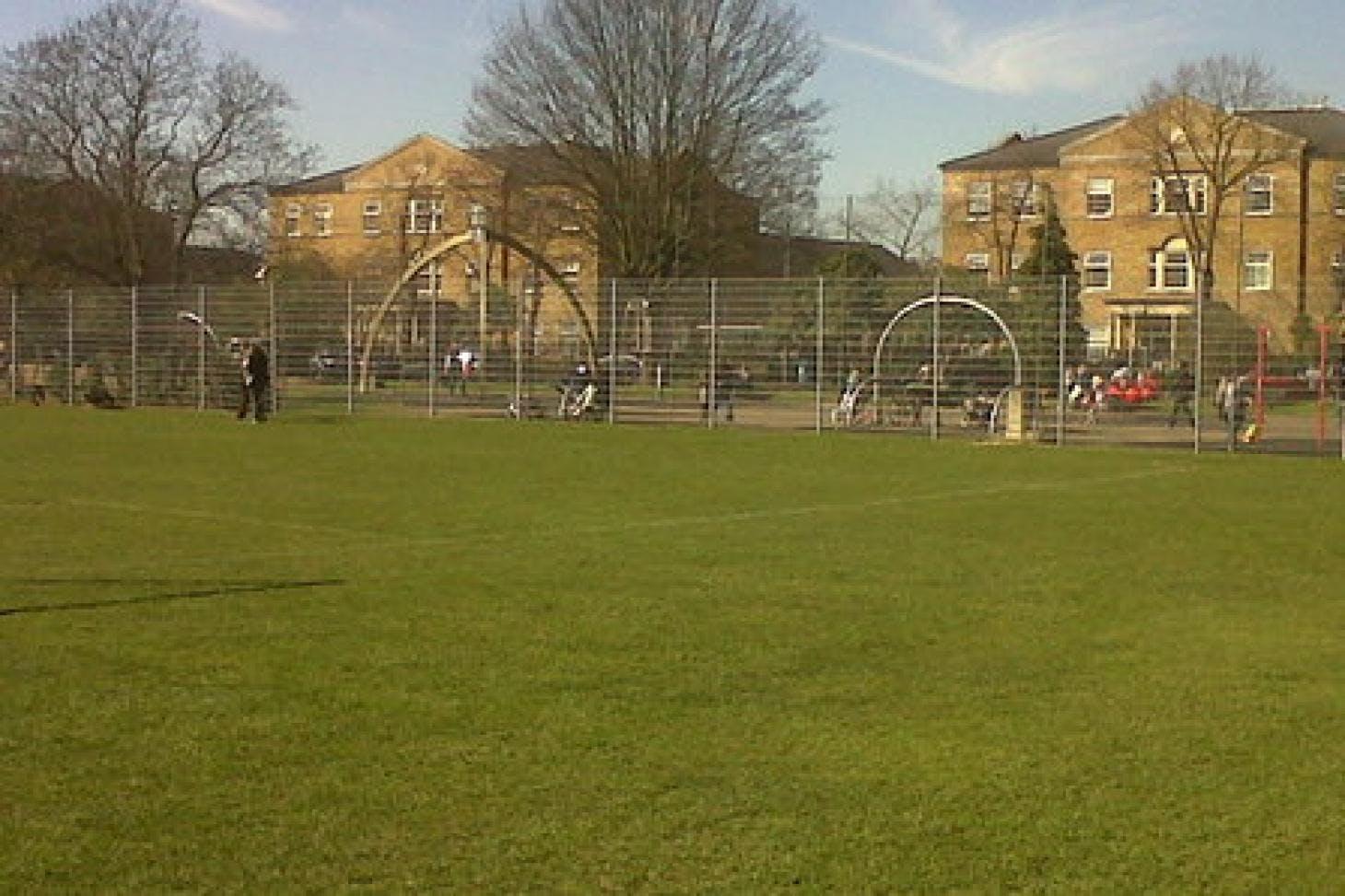 Victoria Park Surbiton Full size | Grass cricket facilities