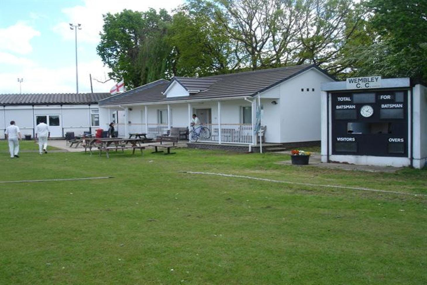 Wembley Cricket Club Nets | Grass cricket facilities
