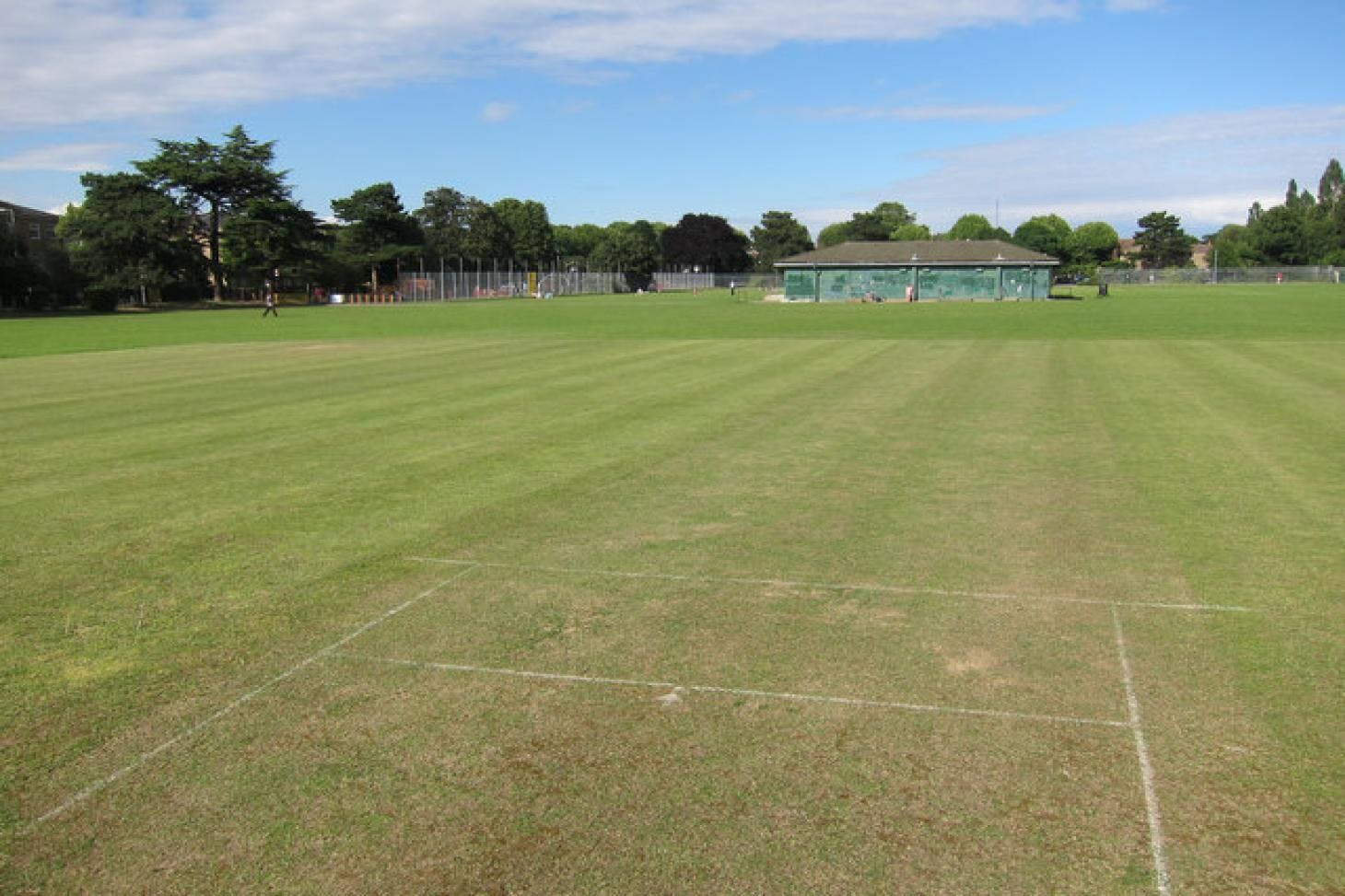 Victoria Recreation Ground Full size | Grass cricket facilities