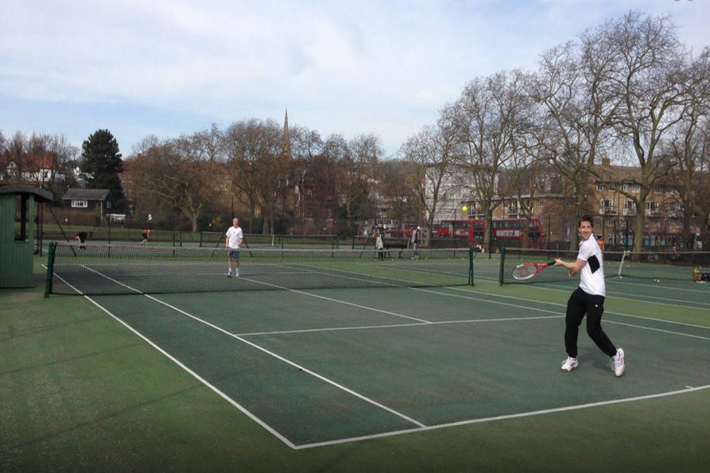 Parliament Hill Outdoor | Hard (macadam) tennis court