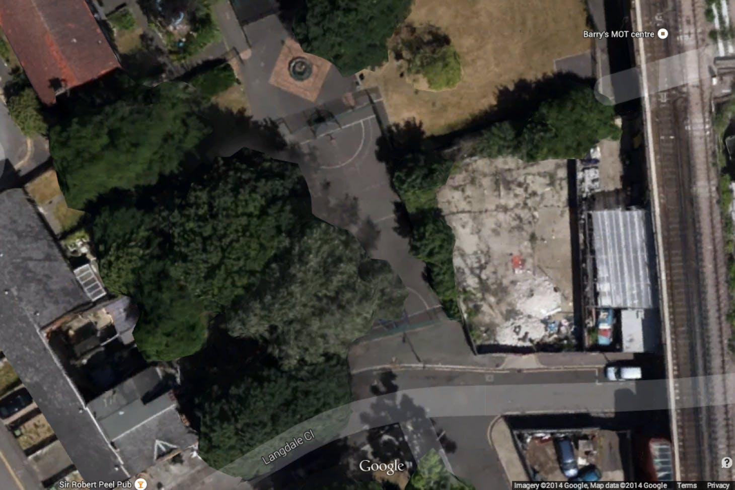 Pelier Park 5 a side | Concrete football pitch
