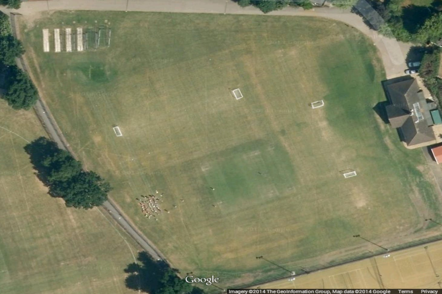 Brondesbury Cricket, Tennis & Squash Club 11 a side | Grass football pitch