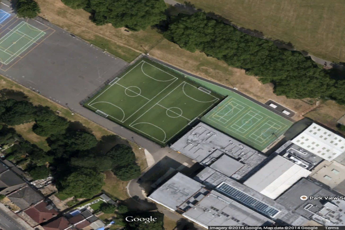 Park View Academy 5 a side | 3G Astroturf football pitch