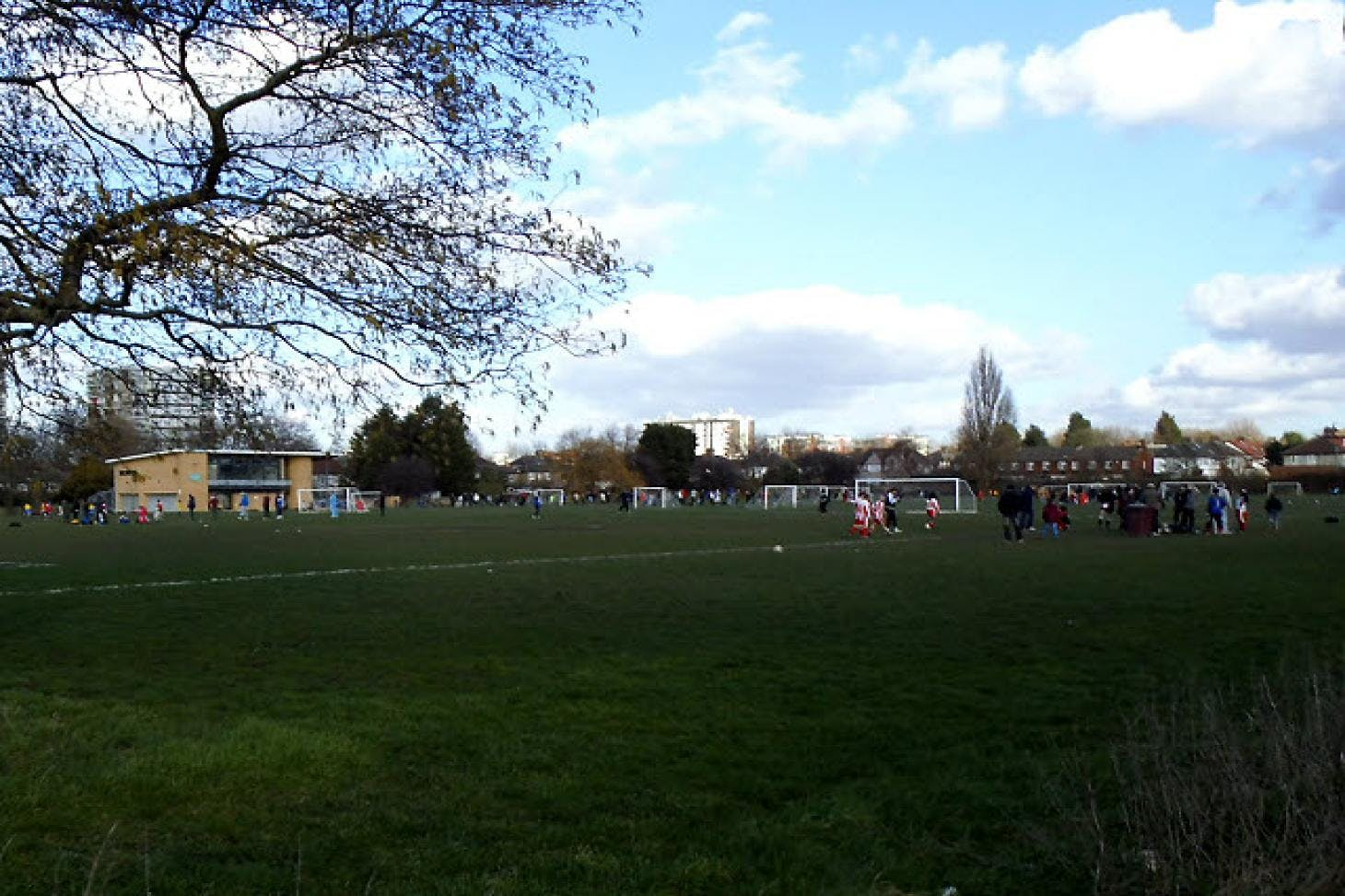 London Marathon Playing Fields - Greenwich 5 a side | Grass football pitch