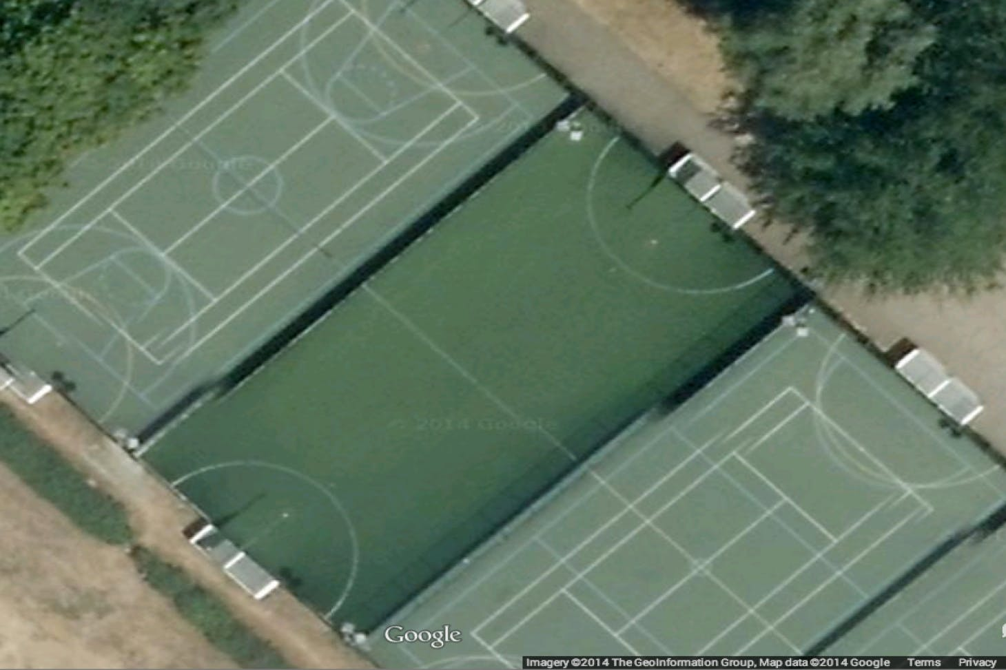 Elthorne Sports Centre 5 a side | Concrete football pitch