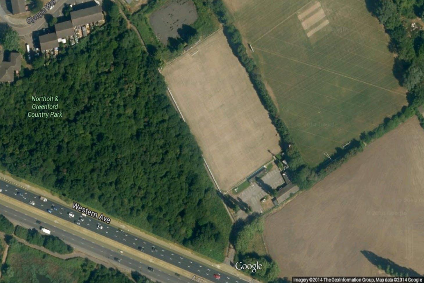 London Marathon Playing Fields - Greenford 5 a side | Grass football pitch