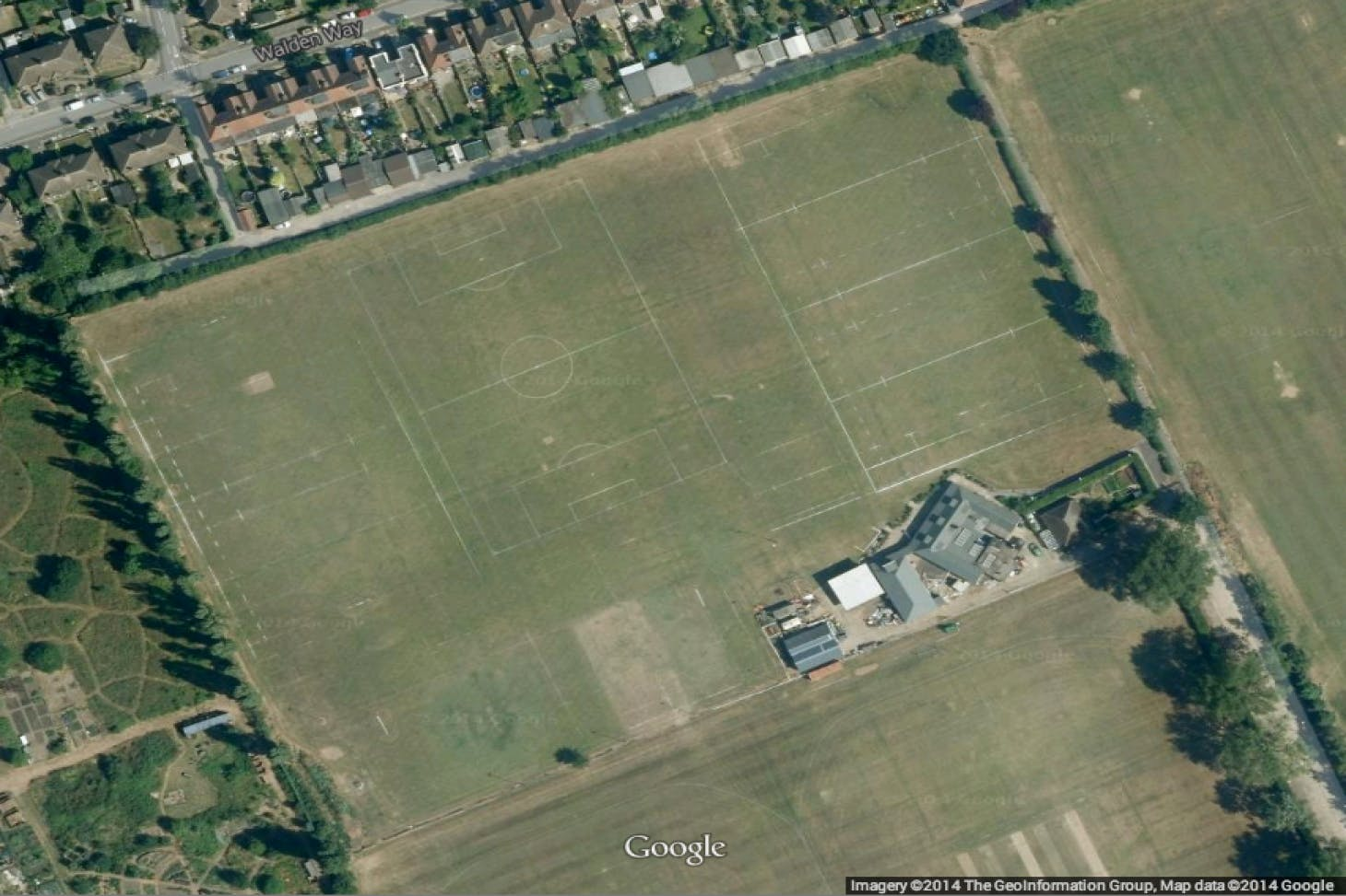 Fairlop Oak Playing Field 5 a side | Grass football pitch