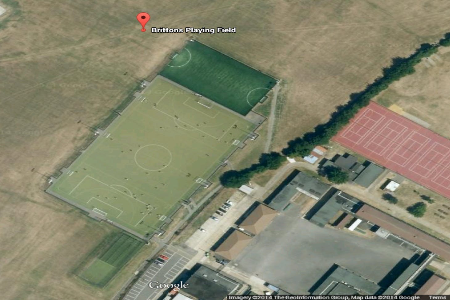 Brittons Playing Field 11 a side | Astroturf football pitch