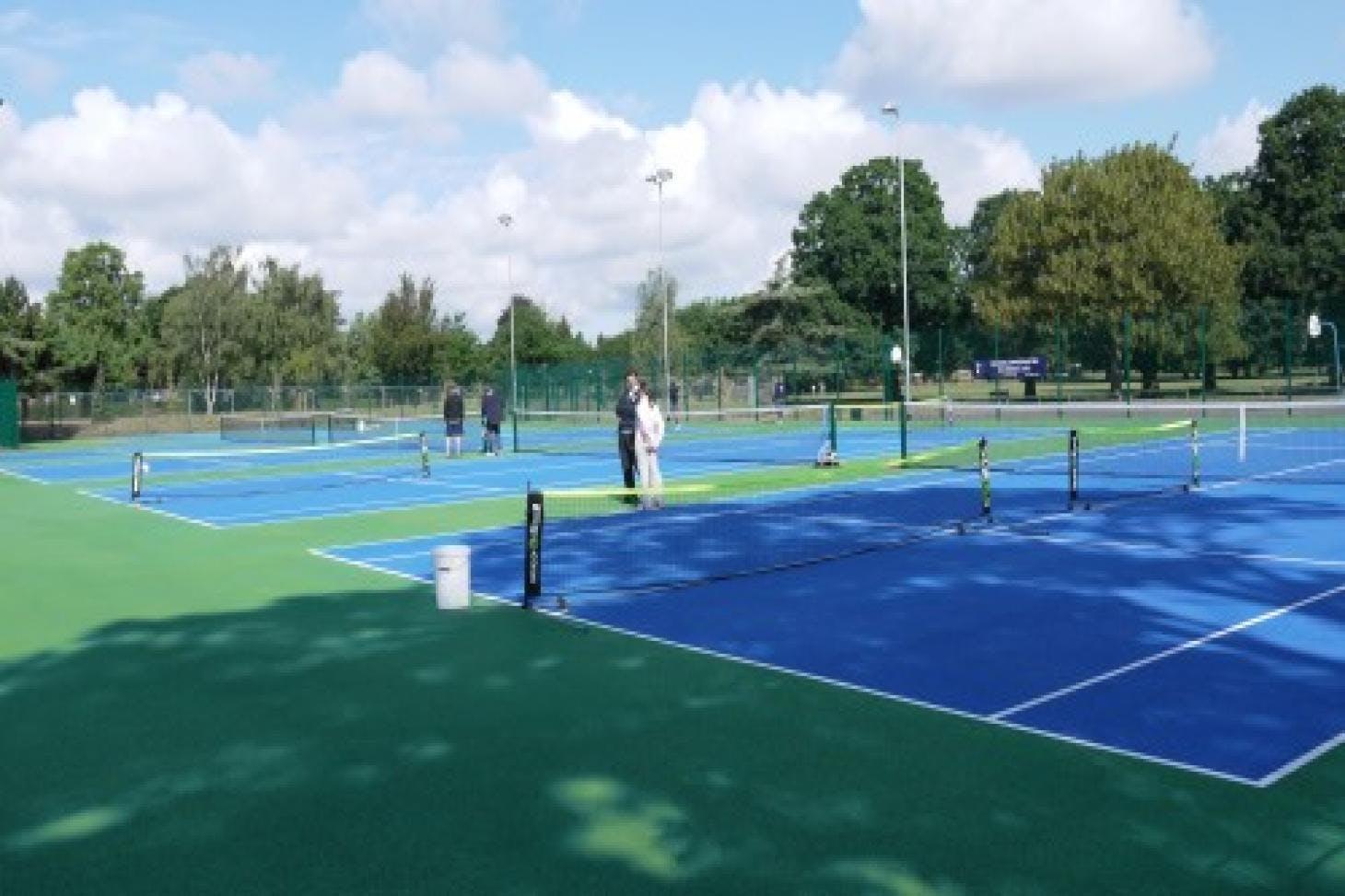Bruce Castle Park Outdoor | Hard (macadam) tennis court
