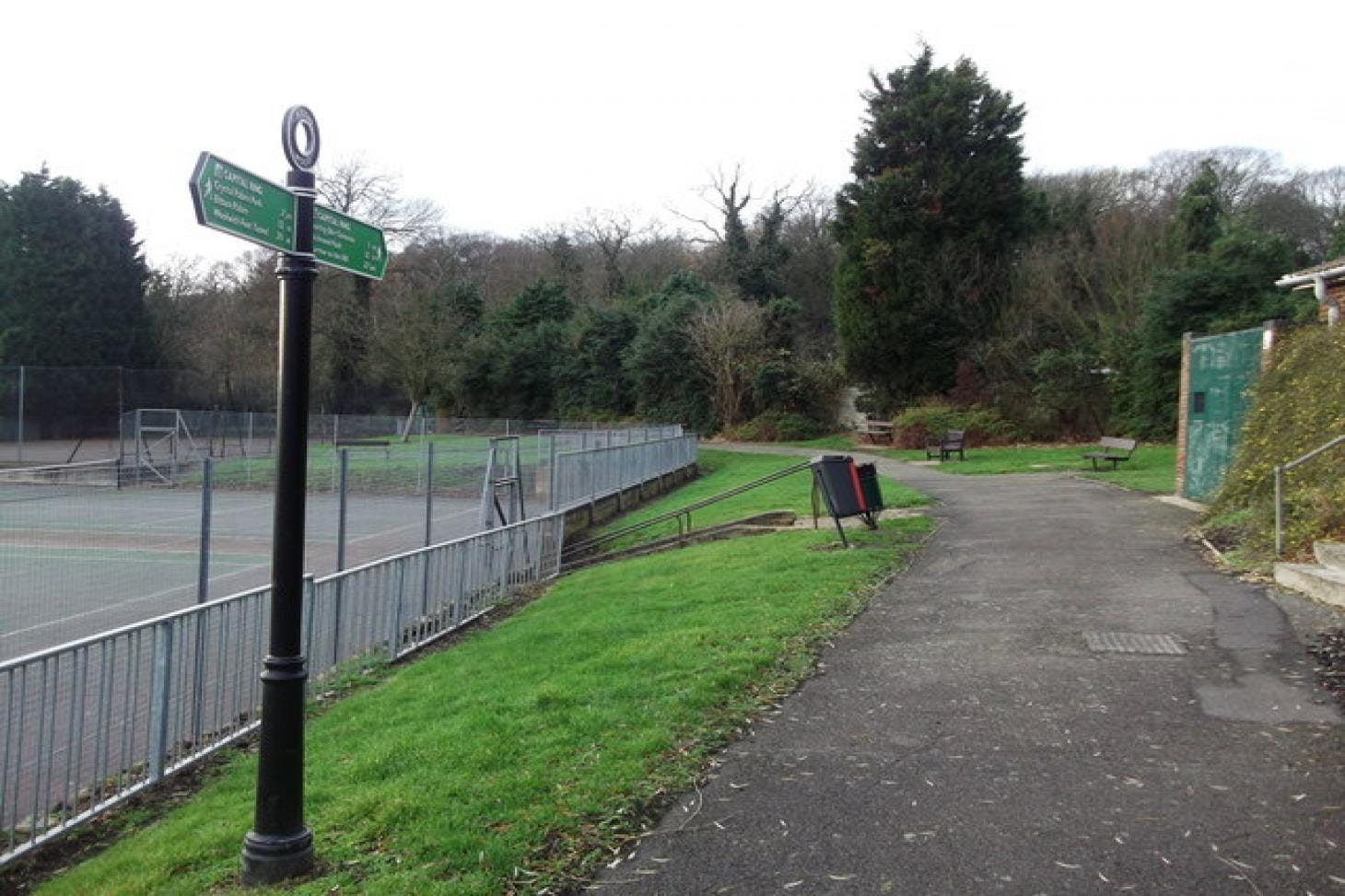 Biggin Wood Park Outdoor | Hard (macadam) tennis court