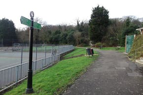 Biggin Wood Park | Hard (macadam) Tennis Court