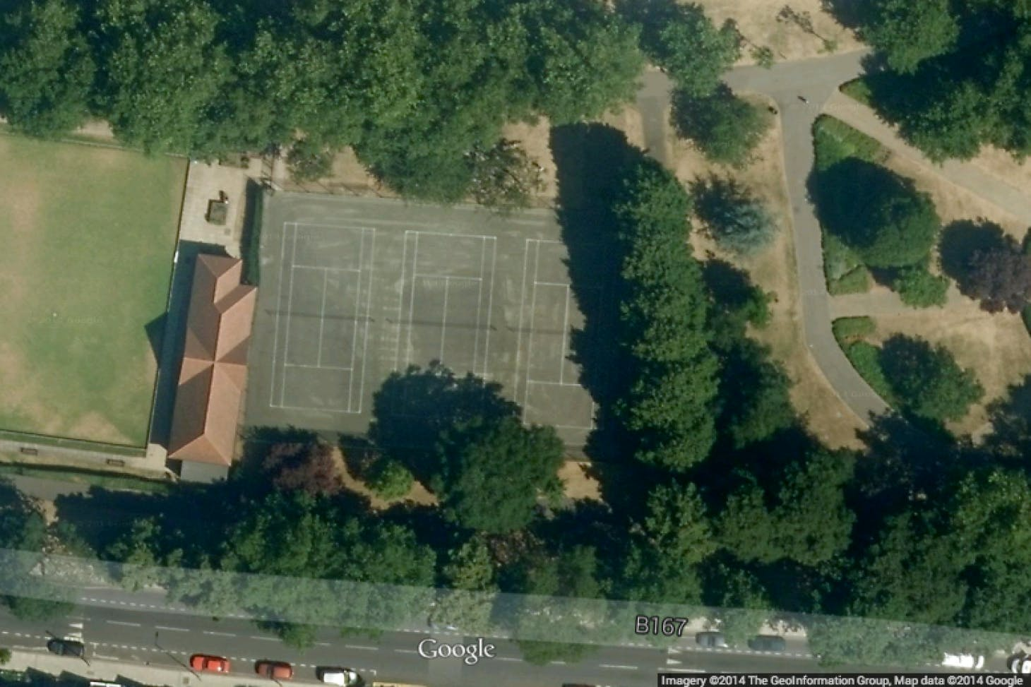 Central Park Outdoor | Hard (macadam) tennis court