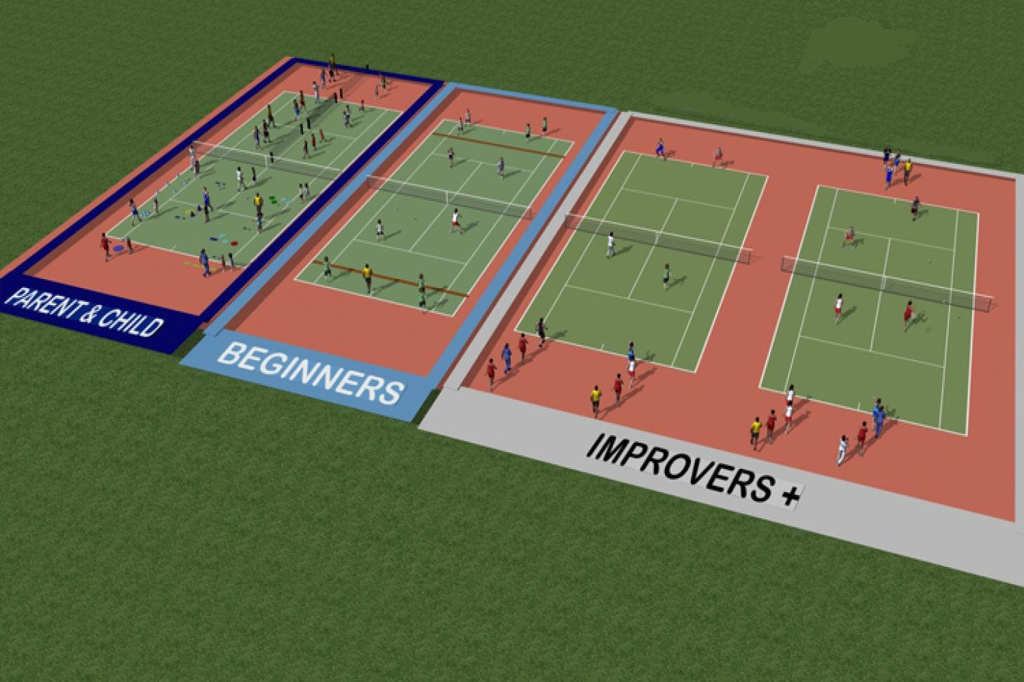 Tamworth Farm Recreation Ground Outdoor | Hard (macadam) tennis court
