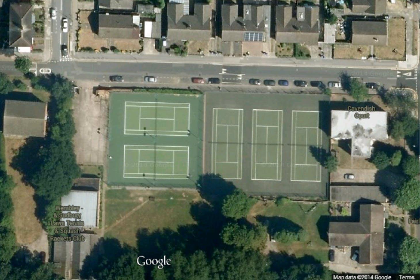 Wembley and Sudbury Lawn Tennis & Squash Club Outdoor | Hard (macadam) tennis court