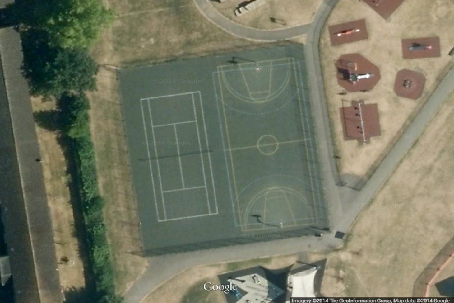 Ponders End Recreation Ground Outdoor | Hard (macadam) tennis court