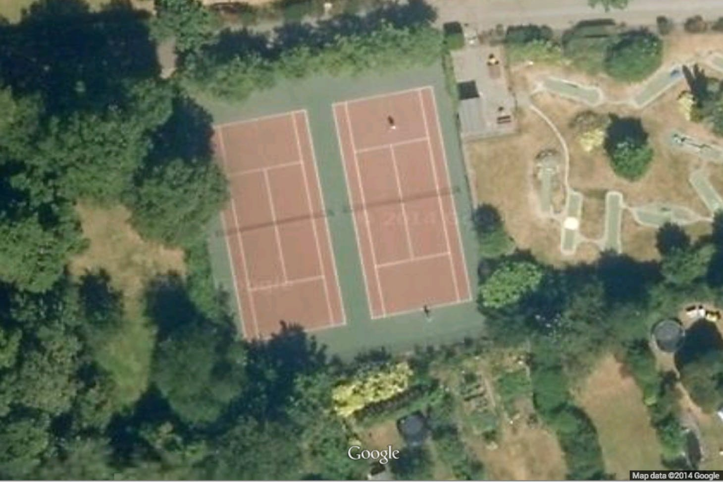 Kelsey Park Outdoor | Hard (macadam) tennis court