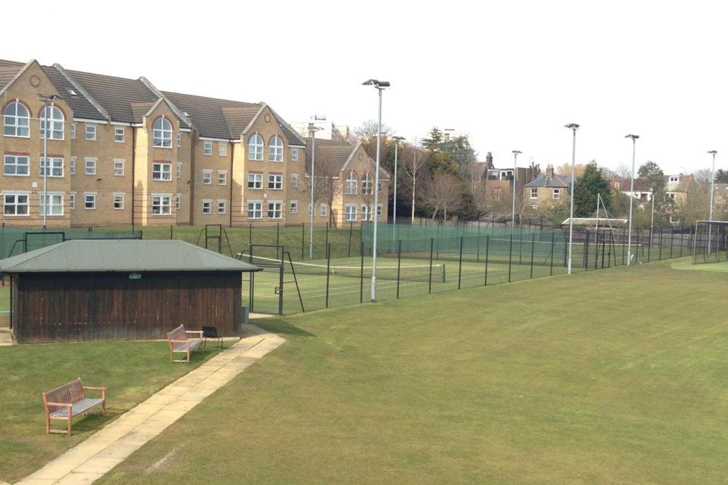 Holtwhites Sports and Social Club Outdoor | Concrete tennis court