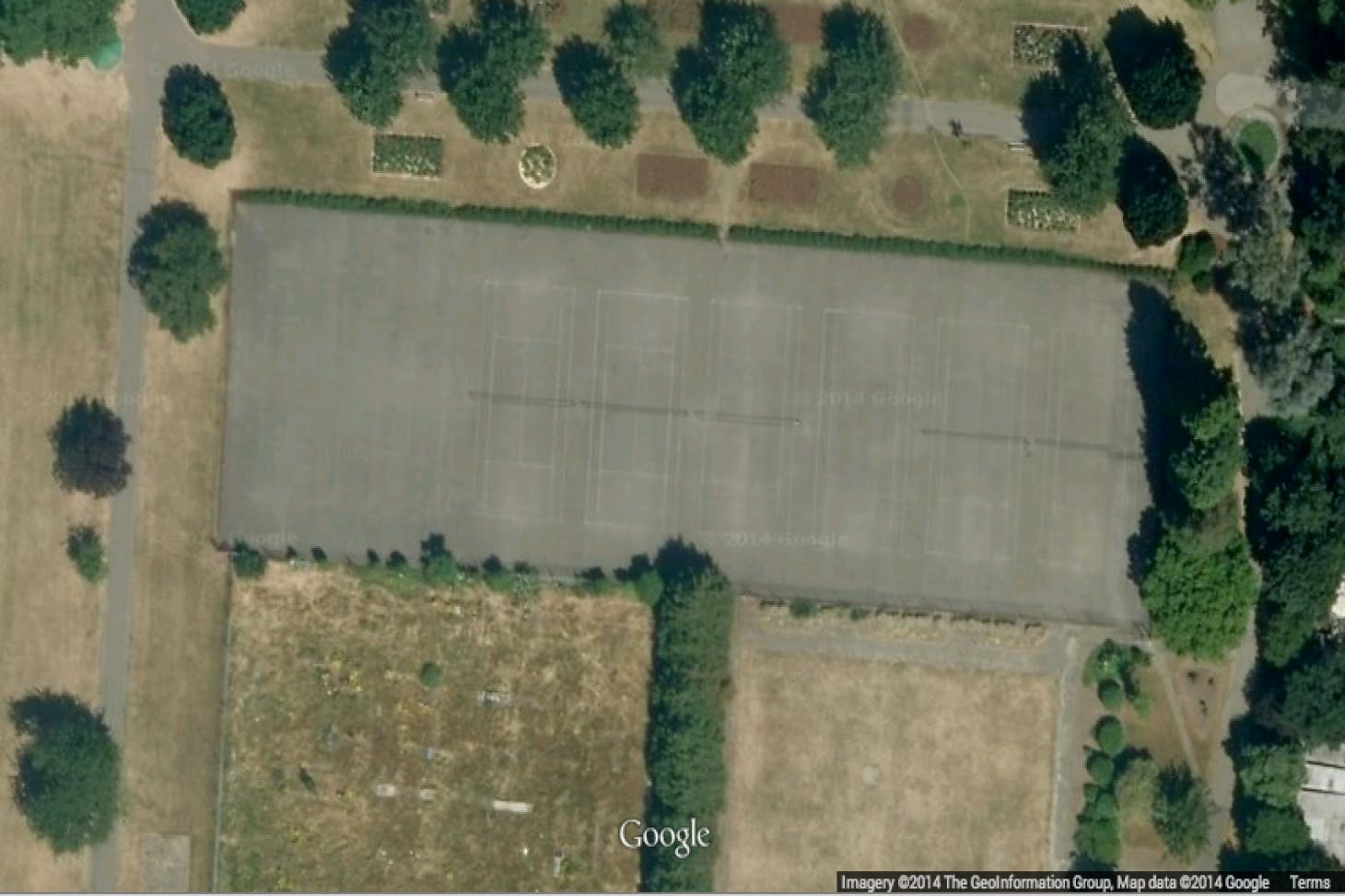 Lampton Park Outdoor | Hard (macadam) tennis court
