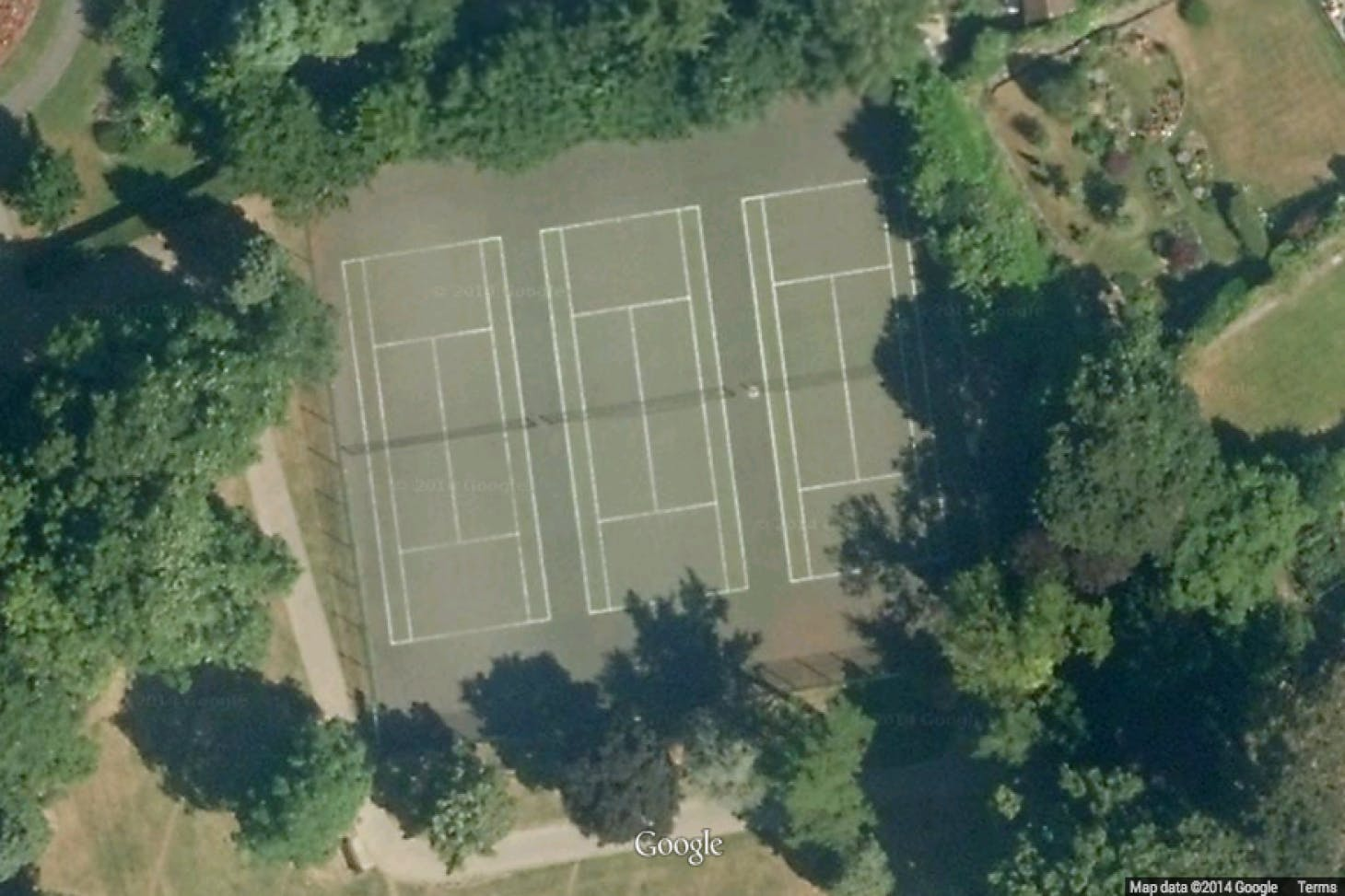 Churchfield Gardens Outdoor | Hard (macadam) tennis court