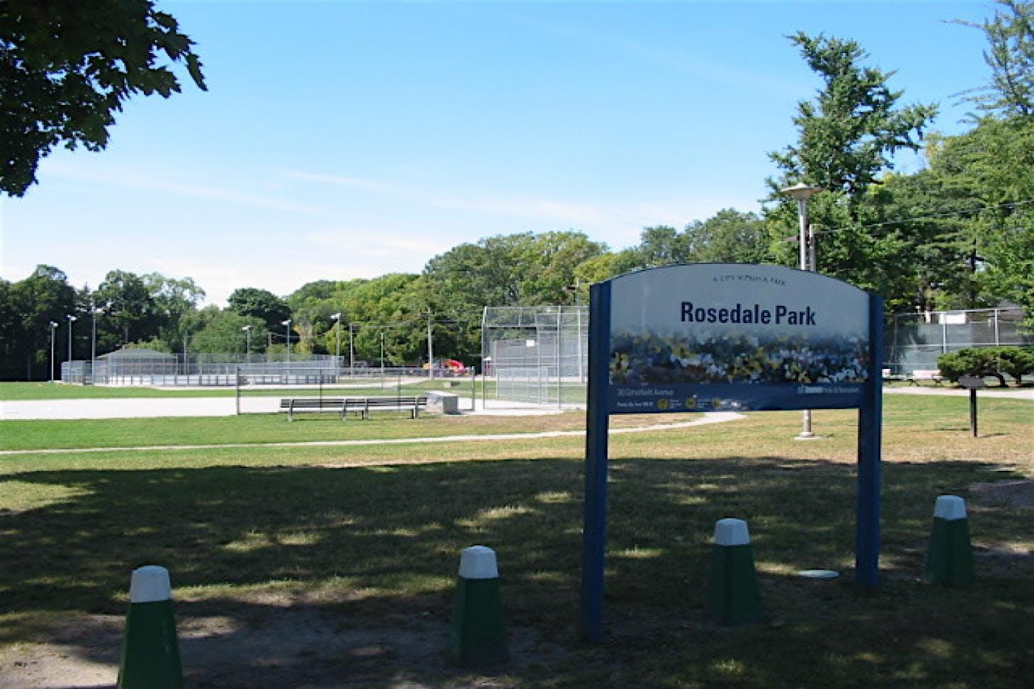 Rosedale Park Outdoor | Hard (macadam) tennis court