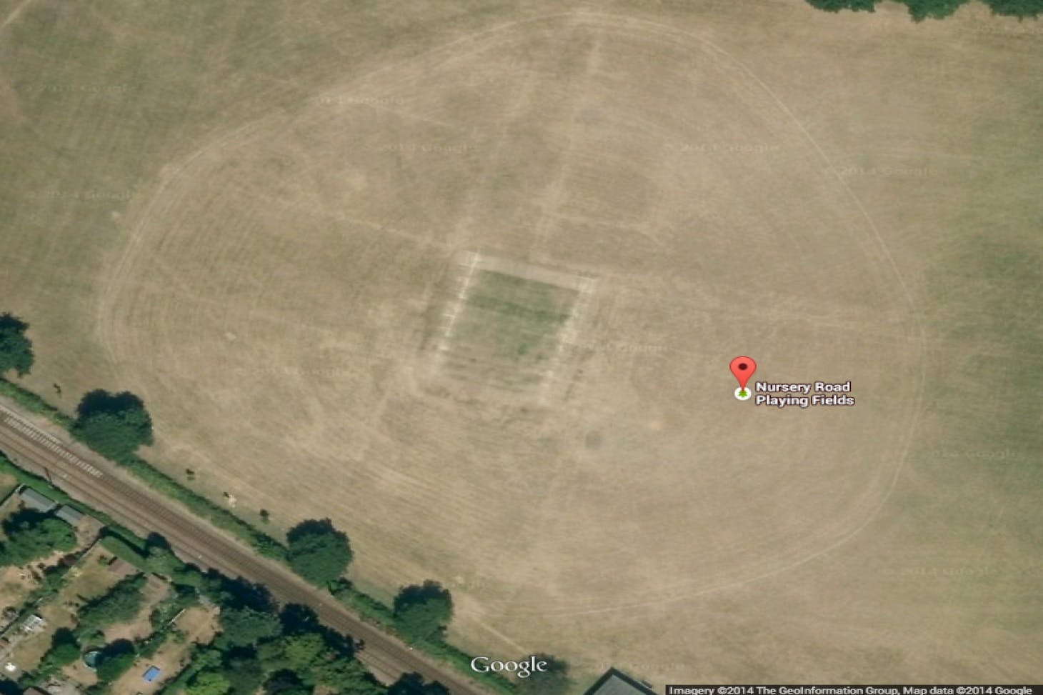 Nursery Road Playing Fields Full size | Grass cricket facilities