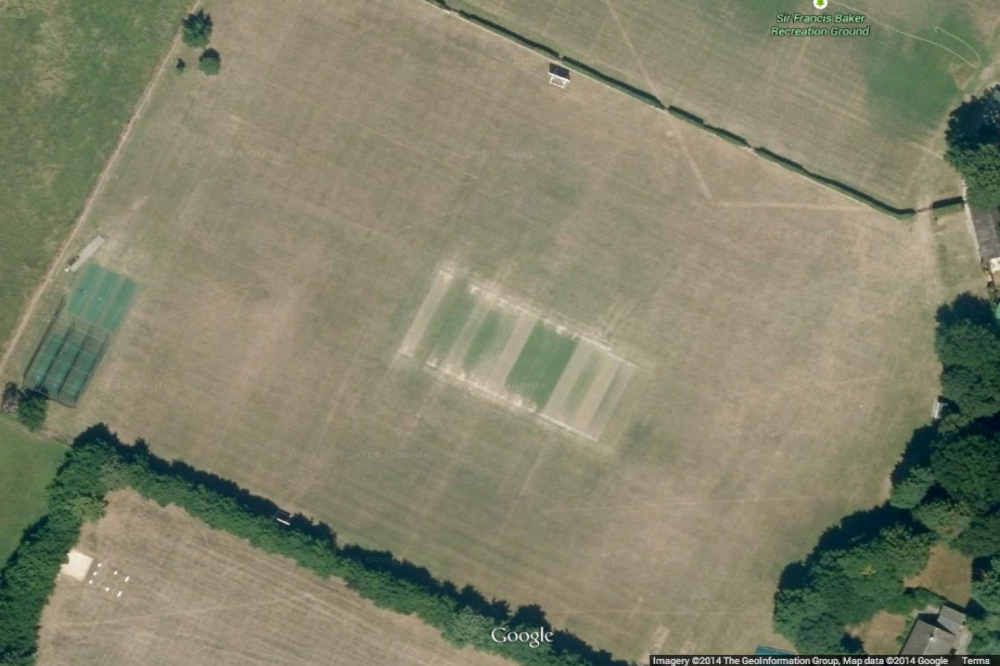 Sir Francis Barker Recreation Ground Full size | Grass cricket facilities